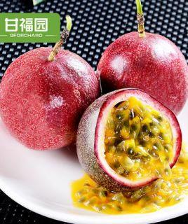 甘福园 广西百香果热带水果10斤新鲜当季西番莲鸡蛋果酱原浆级大红果包邮